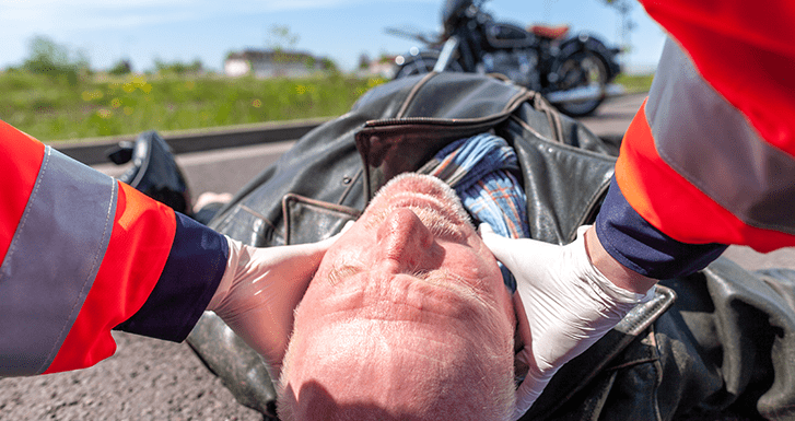 Head Injuries during Motorcycle Accidents