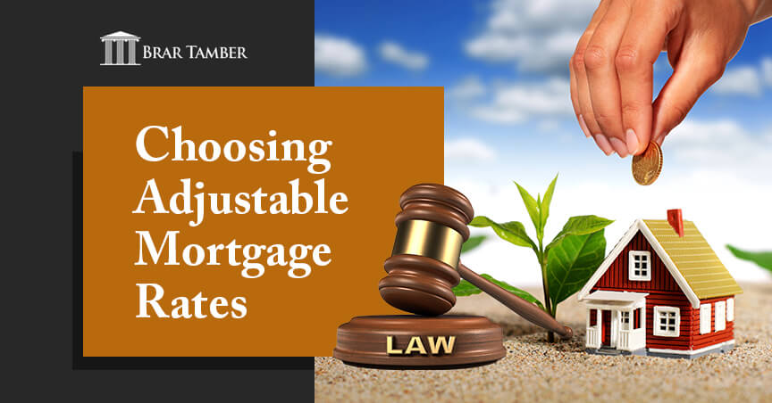 Choosing Adjustable Mortgage Rates