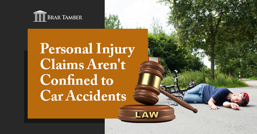 Personal Injury Claims Aren't Confined to Car Accidents