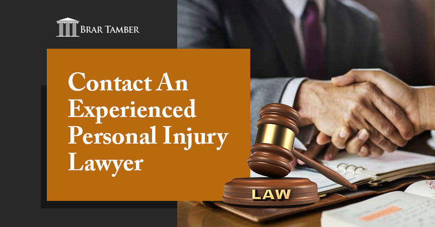 Contact an Experienced Personal Injury Lawyer