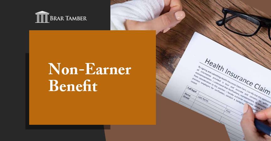 Non-Earner Benefit