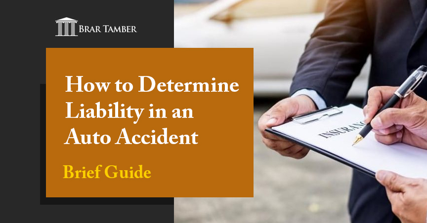How to Determine Liability in an Auto Accident (Brief Guide)