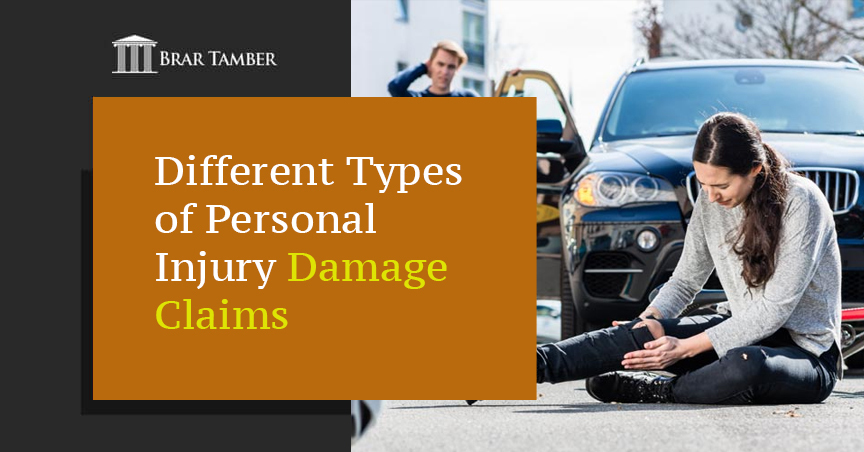 Different Types of Personal Injury Damage Claims