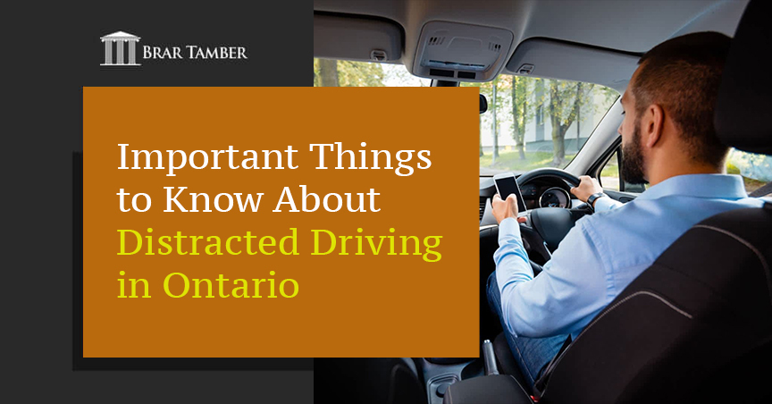 Important Things to Know About Distracted Driving in Ontario